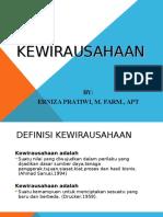 i. Kewirausahaan