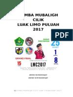 Proposal Lomba Mubaligh Cilik