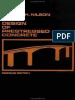 Design of Prestressed Concrete - Arthur H. Nilson