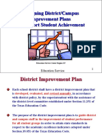 The Planning Process Modified