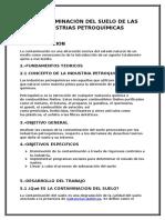 Informe Para Petroquimica