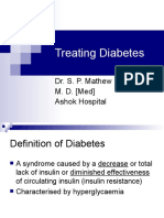 Treating Diabetes Mathew