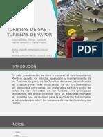 Turbinas de Gas - Turbinas de Vapor