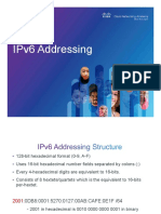 1- IPv6 Addressing