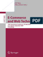 (Lecture Notes in Computer Science 5692 _ Information Systems and Applications, Incl. Internet_Web, And HCI) Edith Elkind (Auth.), Tommaso Di Noia, Francesco Buccafurri (Eds.)-E-Commerce and Web Techn