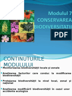Conservarea Biodiversitatii