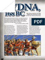 Pydna, 168 BC