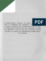 Preguntas del Interrogatorio  de la Real Audiencia de Extremadura en el partido de Cáceres (1791)