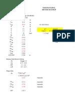 Perhitungan Tahanan kapal metode Holtrop