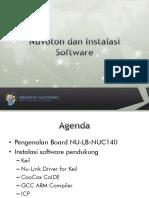 01_Nuvoton Dan Instalasi Software