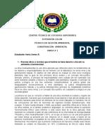 CONSERVACIÓN AMBIENTAL - ÉTICA Y  VALORES AMBIENTALES