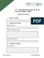 Compétition CF – Khémisset Des Projets de Fin de Formation 2016 - 2017