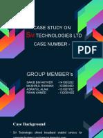SM Technologies Ltd case presentation