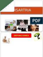 DISARTRIA 1