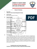 AB RCYC BDMT 2. Project Proposal