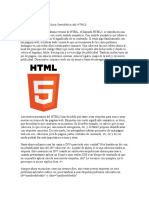 La Nueva Estructura Semántica Del HTML5