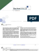 Planificacion Anual Matematica 1Basico-2016