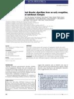 Algoritmos de Diagnóstico y Manejo de Trastornos Gastro-Intestinales Funcionales