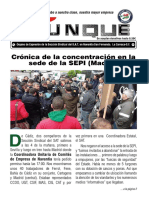 Revista Yunke nº5 Órgano de Expresión de la Sección Sindical del S.A.T. en Navantia San Fernando. La Carraca-S.F.