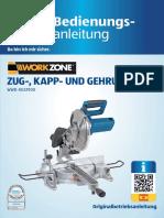 Bedienungsanleitung Zug- Kapp- Und Gehrungssaege