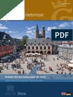 Goslar Erlebnisse