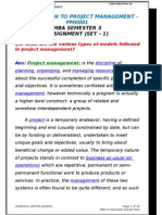 3. Introduction to Project Mamagement PM0001 Sem-3