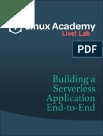 Building a Serverless App 1481055780
