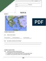 Teste 7B Grécia - 2016-2017