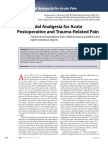 Multimodal Analgesia for Acute Postoperative and.3