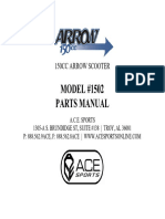 ACE Parts Manual Arrow