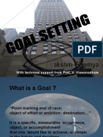 20100713 - Goal Setting and Small Group Activity - AMS Ed. -