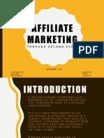 ETNO-Affiliate Marketing Through Second Screen