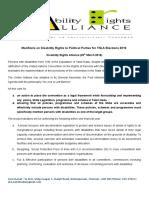 DRA Manifesto