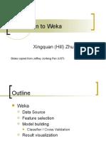 Introduction Weka