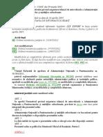 OMJ 1316 Pentru Aprobarea Normativului Privind Asigurarea Tehnica de Autovehicule a ANP