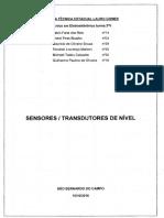 Sensores _ Transdutores de Nível