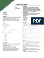 Biologia - Pré-Vestibular Vetor - Bio2 Exercícios 02