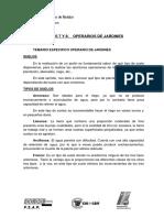 Materias Especificas Operarios de Jaridines