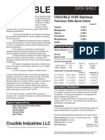 Crucible 416R Stainless Data Sheet