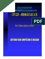 CIV225- Hidraulica_II_Orificios e Bocais