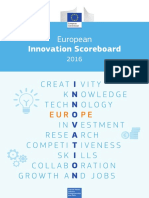 European Innovation Scoreboard 2016