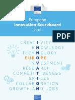 European Innovation Scoreboard 2016