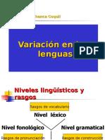 Variación en Las Lenguas