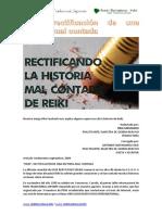 Reiki, Rectificación de Una Historia Mal Contada