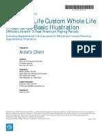 Supplementary Life Insurance for Retirement Planning