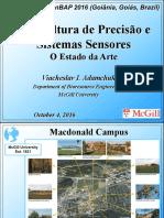 Agricultura de Precisão e Sistemas Sensores - O Estado Da Arte