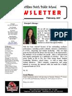 17 Feb Newsletter
