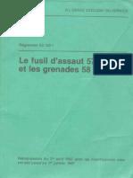 Le fusil dassaut 57 et les grenades 58 a fusil Switzerland 1987.pdf