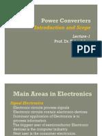 Lec-1 Scope of Power Converters
