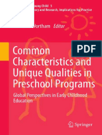 (Educating the Young Child 5) Sue C. Wortham (Auth.), Sue Clark Wortham (Eds.)-Common Characteristics and Unique Qualities in Preschool Programs_ Global Perspectives in Early Childhood Education-Sprin (1)